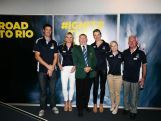 A panel of Olympic legends- Robin Bell, Mel Gainsford Taylor, Laurie Lawrence, Allison Fallon, Katrina Powell and Dennis Green during an Australian Olympic Committee 'Ignite' Session ahead of the 2016 Rio Olympic Games, on November 20, 2014 in Sydney, Australia.