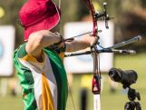Youth Olympian archer Nicholas Turner in action.