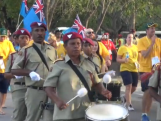 Aussies march into Port Moresby