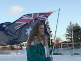 Snowboarder Emily Arthur selected to carry the Australian flag at the Opening Ceremony.