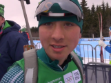 Morton and Mahon take on world's best in biathlon