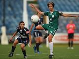 Sally Shipard of Canberra controls the ball during the round nine W-League match between the Melbourne Victory and Canberra United at Skilled Stadium on January 8, 2011 in Geelong, Australia.