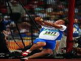 Primoz Kozmus of Slovenia competes in the Men's Hammer Final held at the National Stadium on Day 9 of the Beijing 2008 Olympic Games on August 17, 2008 in Beijing, China.