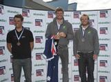 Five-time World Champion, Tom Slingsby, took out the gold medal in the Laser class at the 2012 Skandia Sail for Gold Regatta in Weymouth, United Kingdom. Fellow Australian Tom Burton claimed the silver medal on a count back.