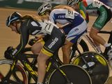 Three AYOF athletes go head to head- Josie Talbot (NSW), Lauren Perry (TAS) and Elissa Wundersitz (WA) finished first, second and third respectively in the U19 women's event at the 2013 Omnium National Championships at the DISC Velodrome, Melbourne on 14 December, 2012.