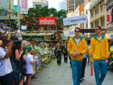 Queensland had a chance to meet the Australian Olympic Team at the Brisbane Welcome Home Parade on 24 August, 2012.