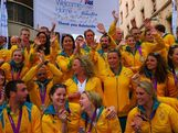 The winter weather in Adelaide did not stop the community from coming out to welcome home the Australian Olympic Team on 23 August, 2012.