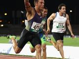 Aaron Rouge-Serret of the VIS won the Men's 100m and 200m races during the Australian Athletics National Championships at Olympic Park in Melbourne. Aaron won the 100m with a time of 10.39secs and the 200m with a time of  20.88secs.