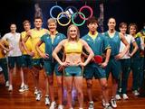 Australian Olympic Team uniform catwalk