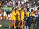 Australia win the field hockey gold defeating South Korea 2-0. Not only was this Australia's firts hockey gol but it was also Australia's first gold medal in any team sport at the Olympics.