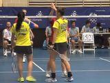 Encouraging win for Australian badminton pair on Day 1