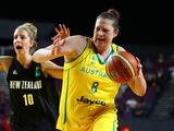 Suzy Batkovic of the Opals in action during the third match between the Australian Opals and the New Zealand Tall Ferns at Sydney Entertainment Centre on September 11, 2011. Both the Women's and Men's teams Qualified for the London 2012 Olympic Games.