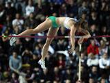 Alana Boyd  competes in the Women's Pole Vault Final during day three of the 14th IAAF World Indoor Championships at the Atakoy Athletics Arena on March 11, 2012 in Istanbul, Turkey.