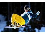 Torah Bright of Australia competes in the Snowboard Women's Halfpipe on 