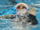 Alicia Coutts qualifies for the Women's 200 Metre Individual Medley during day the Australian Swimming Championships at the South Australian Aquatic & Leisure Centre on March 17, 2012 in Adelaide, Australia.