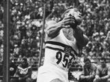 Helsinki 1952: Jozsef Csermak of Hungary wins the hammer throw with a world record of 60.34 metres, the first throw beyond the 60 metre mark.