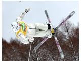Dale Begg-Smith of Australia competes during men's moguls of 2008 Freestyle FIS World Cup in Inawashiro, Japan.