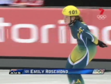 Emily Rosemond 1500m short track skating