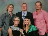 The family picture at little sister Sam's graduation.