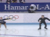 Danielle McGrath (Carr) and Stephen Carr - Figure skating pairs (final round)