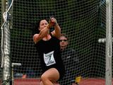 Gabrielle Neighbour of VIC competes in the Women's Hammer Throw during the Graeme Briggs Memorial Track Classic. Gabrielle won the event with a distance of 60.84m
