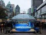 The GE Ice Plaza in downtown Vancouver will be the centre of holiday activities in the heart of Vancouver prior to the 2010 Winter Games.