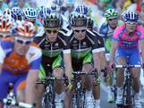 Stuart O'Grady and Team GreenEDGE ride in the peleton during the 2012 Tour Down Under Classic in Adelaide, Australia.