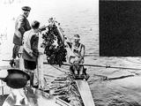 Amsterdam 1928: Australia's Henry Pearce accepts his wreath after winning the gold medal in the rowing single sculls.