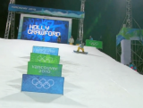 Holly Crawford - women's snowboard halfpipe