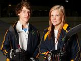 Sam Hodic and Sharnita Crompton have been selected to compete in the individual ice hockey skills event at the first ever Winter Youth Olympic Games, taking place in Innsbruck from 13 - 22 January 2012.
