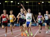 James Kaan of the NSWIS wins the Mens 800 Metres Open during the Australian Athletics National Championships at Olympic Park in Melbourne with a time of 1min 47.48secs.
