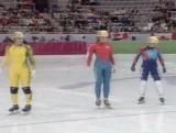 Karen Kah - women's 1000m speed skating