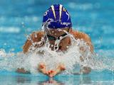 Leisel Jones races in the Heats of the Women's 100 Metre Breaststroke during the 2011 Australian Swimming Championships at Sydney Olympic Park Aquatic Centre.