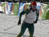 Biathlete Lachlan Porter in training at Seefeld Arena ahead of the Winter Youth Olympic Games in Innsbruck, Austria.