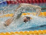 Jade Neilsen competes in heat three of the Women's 4 x 200m Freestyle Relay heats during Day Thirteen of the 14th FINA World Championships at the Oriental Sports Center on July 28, 2011 in Shanghai, China.
