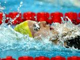 Alicia Coutts competes in the Women's 200m Individual Medley Heat 4 held during the Beijing 2008 Olympic Games.