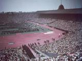 London 1948: The Opening Ceremony of the 14th Olympic Games.