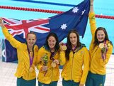 Australia's first gold medal