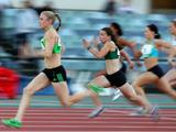 Sally Pearson of the QAS became the first athlete since Pam Ryan in 1968 to win three titles at the one championships during the Australian Athletics National Championships. Sally won the 100m with a time of 11.38secs, the 200m in 23.20secs and the 100m in a time of 12.83secs.