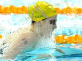 Australia's Emily Selig won the silver in the Youth Women's 100m Breaststroke competition.