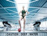 Sophie Smith poses during an Australian Olympic Games Water Polo team portrait session at the AIS on June 13, 2012 in Canberra, Australia.