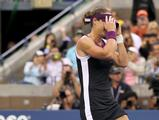 Samantha Stosur reacts after defeating Serena Williams to win the Women's Singles Final at the 2011 US Open at the USTA Billie Jean King National Tennis Center in New York City.