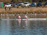 Kate Hornsey (TAS) and Sarah Tait (VIC) won the women's pair national title at the 2012 Australian Rowing Championships held at the Champions Lake Regatta Centre in Perth, WA. The duo took a three boat length victory over their second place rivals, young WA pair Hannah Vermeersch and Alex Hagan.
