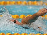 Yolane Kukla races in the Final of the Women's 100 Metre Freestyle during the 2011 Australian Swimming Championships at Sydney Olympic Park Aquatic Centre