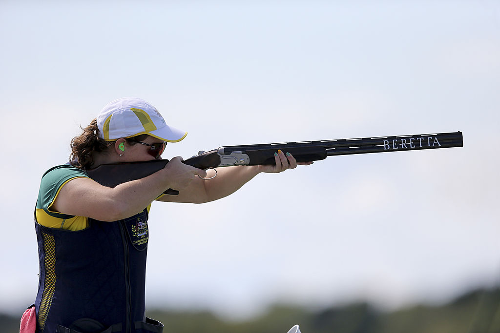 Shooting: Australia's Skinner wins gold in women's trap
