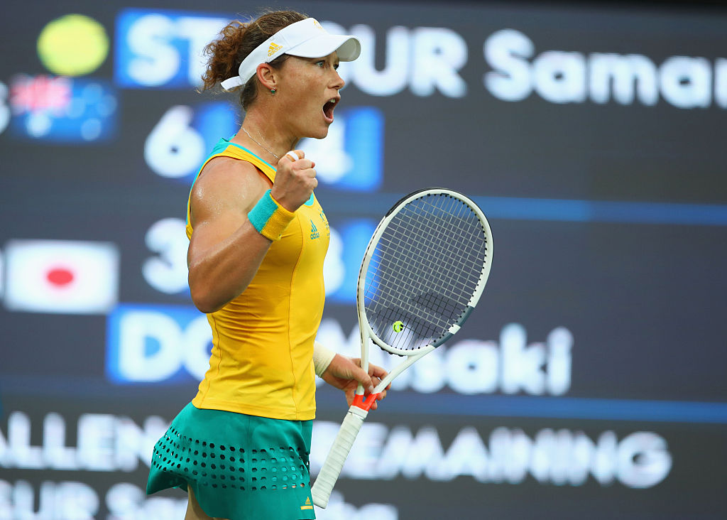 Angelique Kerber vs. Samantha Stosur 2016 Rio Summer Olympics Pick, Odds, Prediction