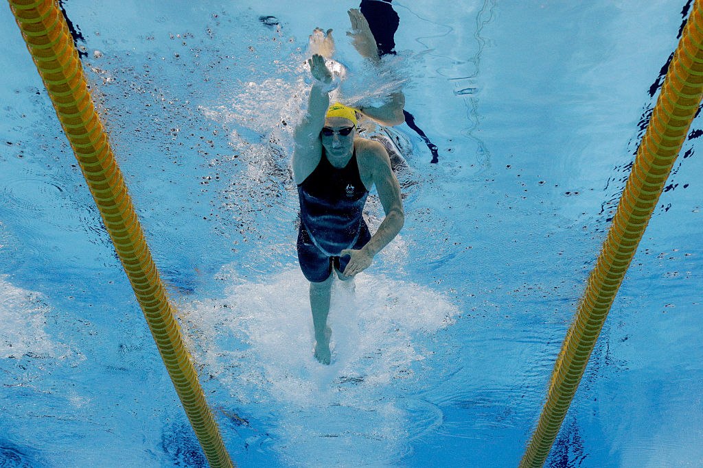 Swimming: Cate Campbell fastest in 100 freestyle heats